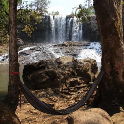 Chillen in der Hängematte am Bou Sra Wasserfall