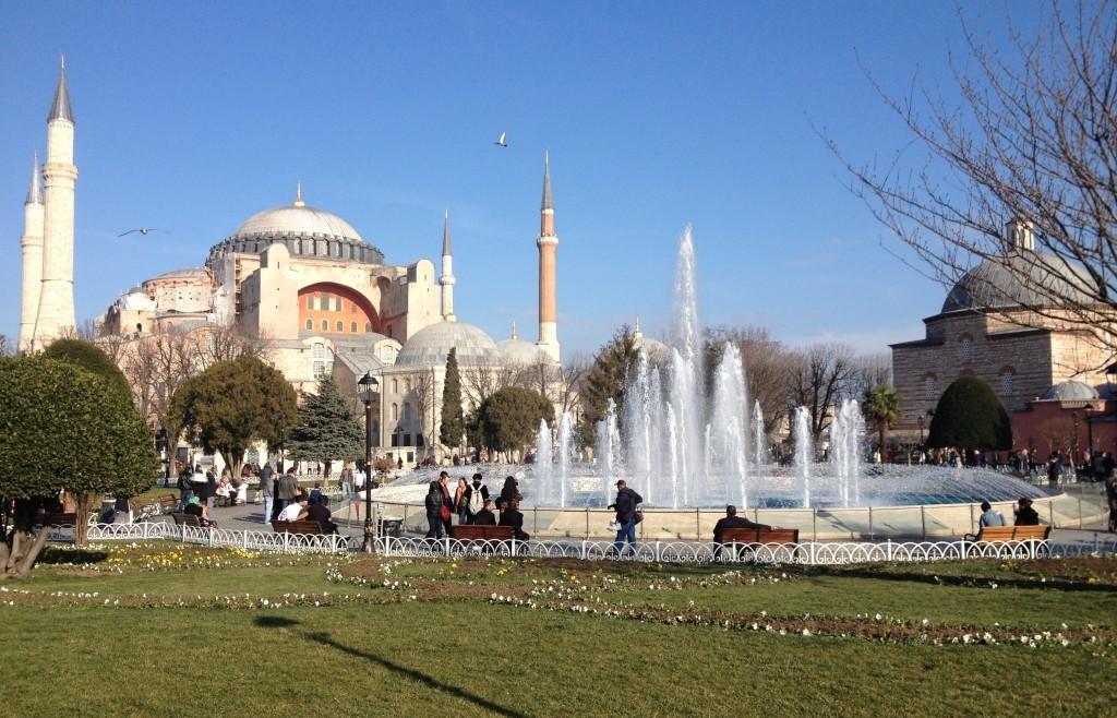 Hagia Sophia & Sultan Amhet Park