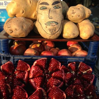 Kartoffel zeigt ihr wahres Gesicht in Istanbul