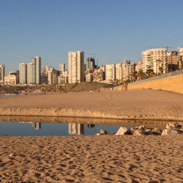Strand von Beirut