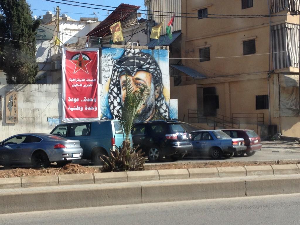 Wahlplakat in Beirut / Libanon