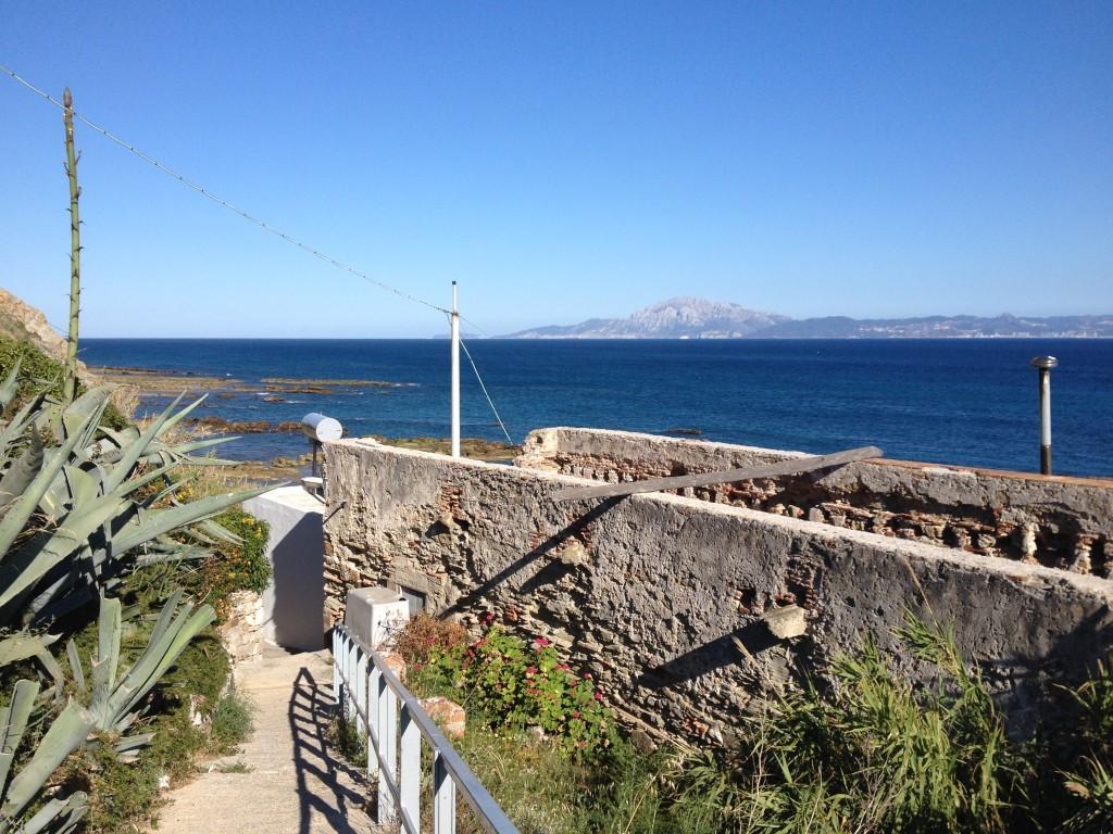 Tarifa - Blick auf die Küste von Afrika