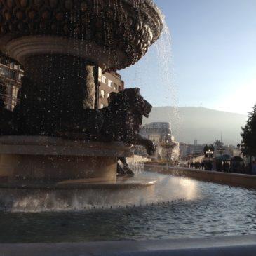 Skopje – Nagelneue Antike
