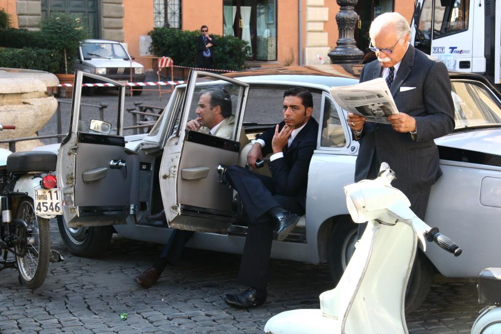 Filmkulisse in Rom