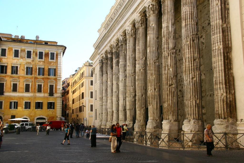 Die Säulen des Pantheon