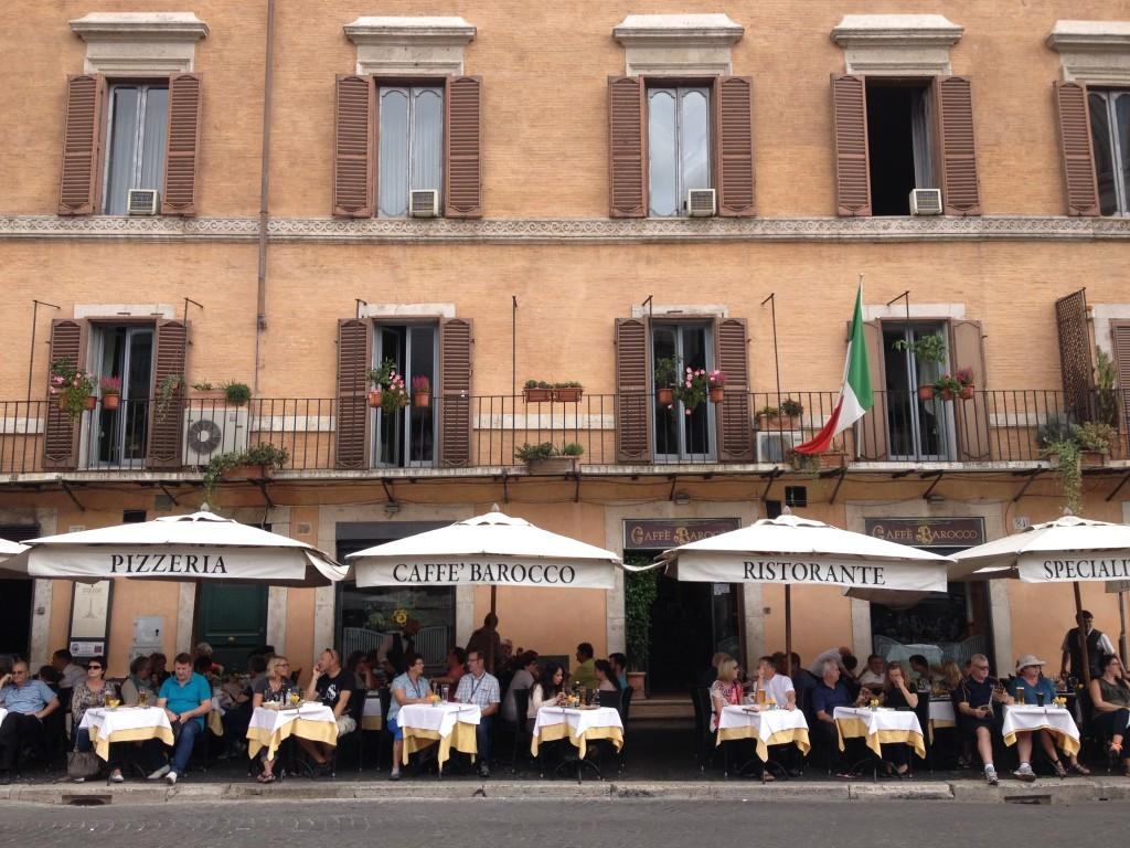 Piazza Navona - Caffé Barocco