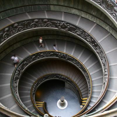 Wendeltreppe im Vatikanischen Museum