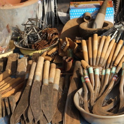 Agrar-Werkzeuge in Sen Monorum / Mondulkiri