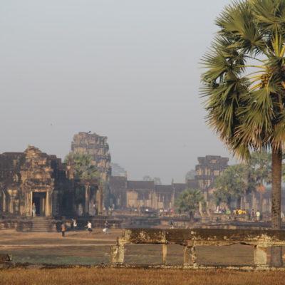 Angkor Wat im Morgennebel