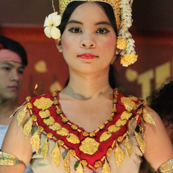 Aspara-Tänzerin in Siem Reap