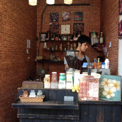 Bangkoks kleinstes Café