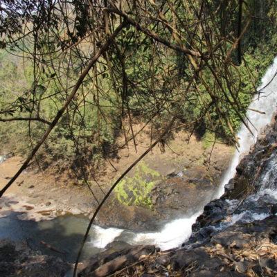 Bou Sra Waterfall - Zweite Stufe des Busra-Wasserfalls