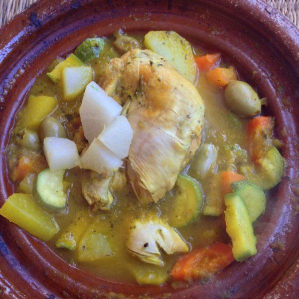 Chicken-Tajine