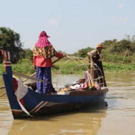 Mekong –  Mit dem Boot von Siem Reap nach Battambang