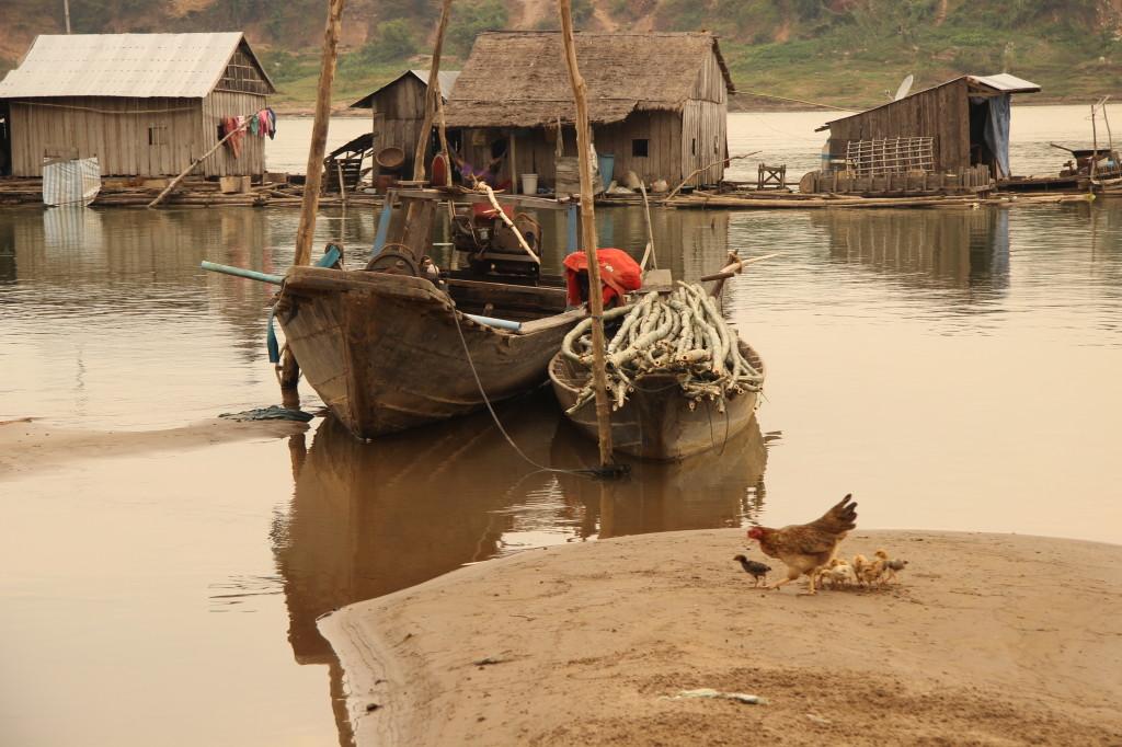 Floating Village - Schwimmendes vietnamesisches Dorf