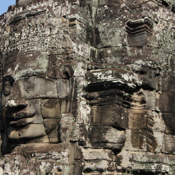 Gesichtertürme des Bayon-Tempel