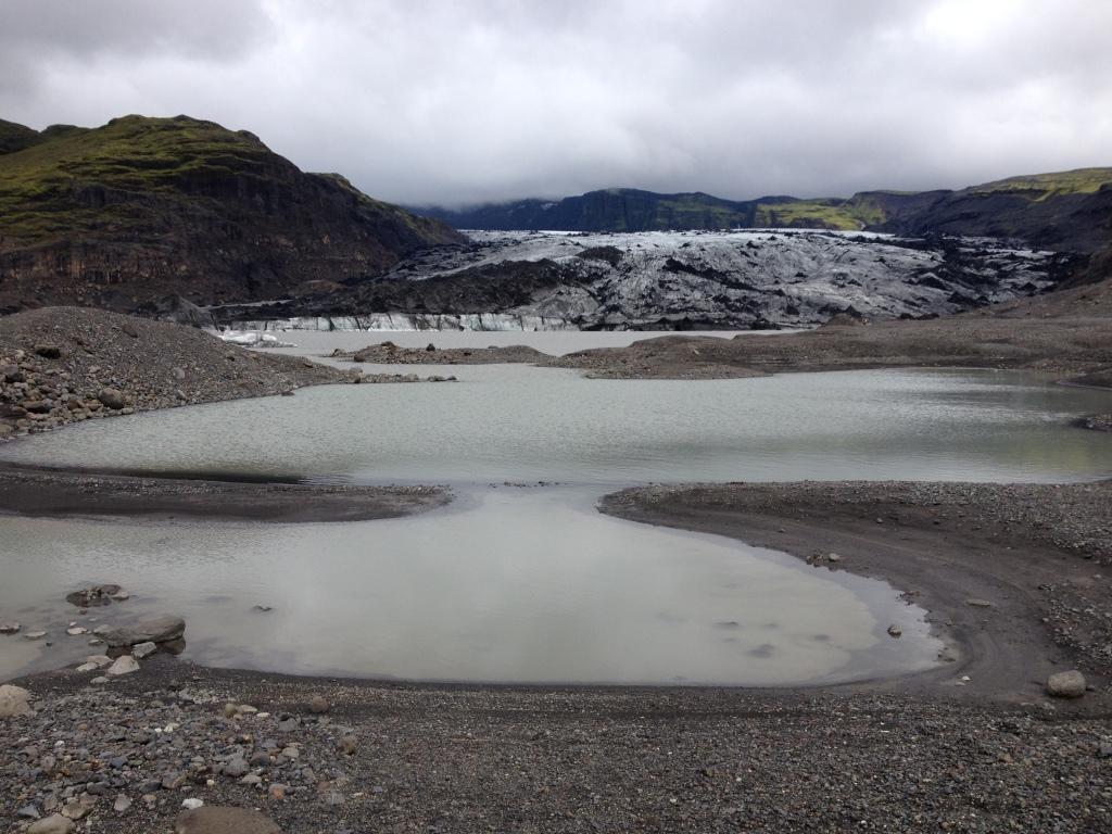 Der Sólheimajökull ist eine Gletscherzunge des Mýrdalsjökulls im Süden Islands.