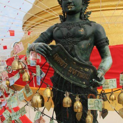 Golden Mount im Wat Saket Ratcha Wora Maha Wihan, Tempel des Goldenen Berges