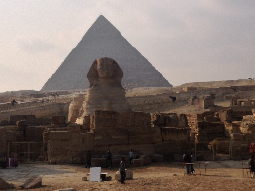 Great Sphinx in Gizeh