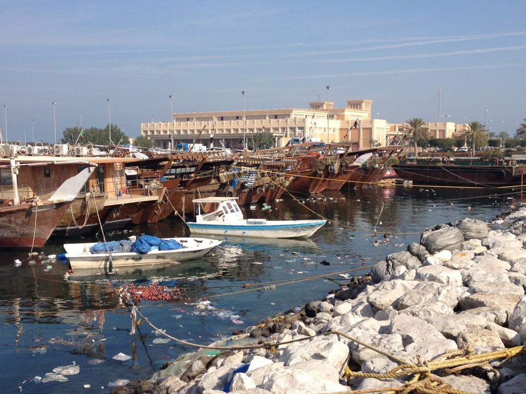 Hafen in Kuwait