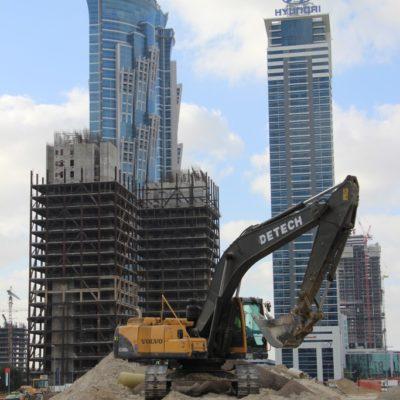 In Dubai wird gebaut