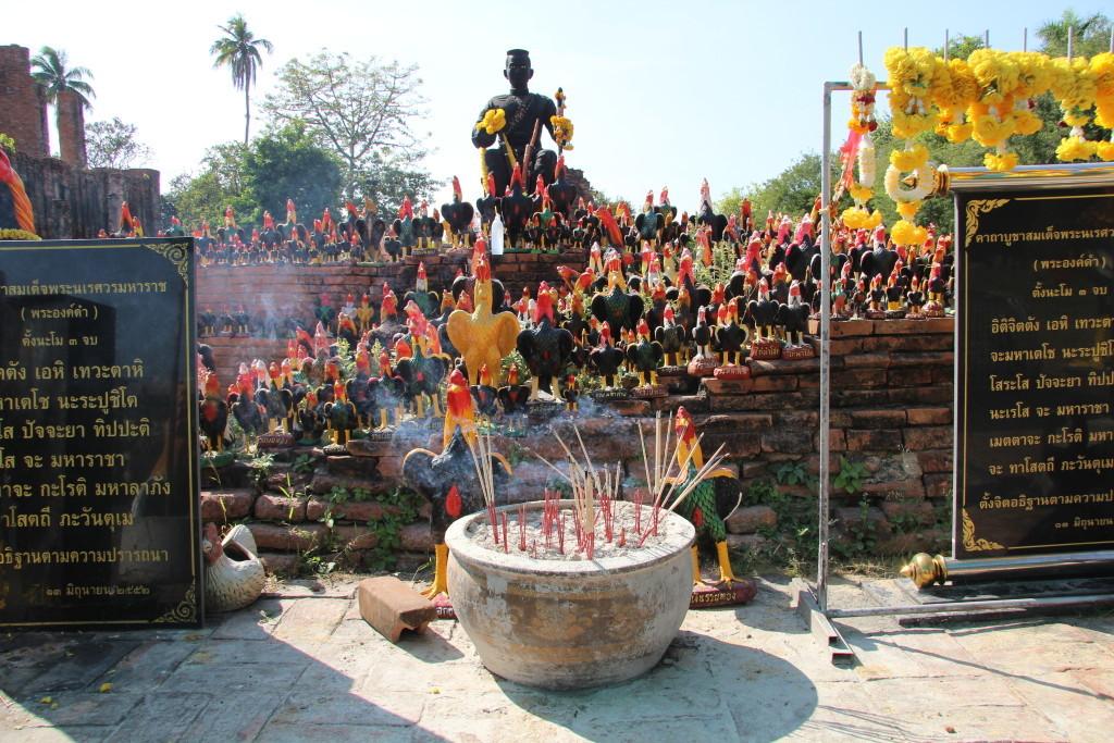 König Naresuan und seine Kampfhähne