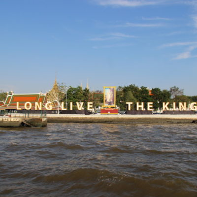 Long live the King - Grand Palace in Bangkok