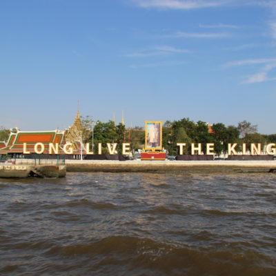 Long live the King - Grand Palace in Bangkok