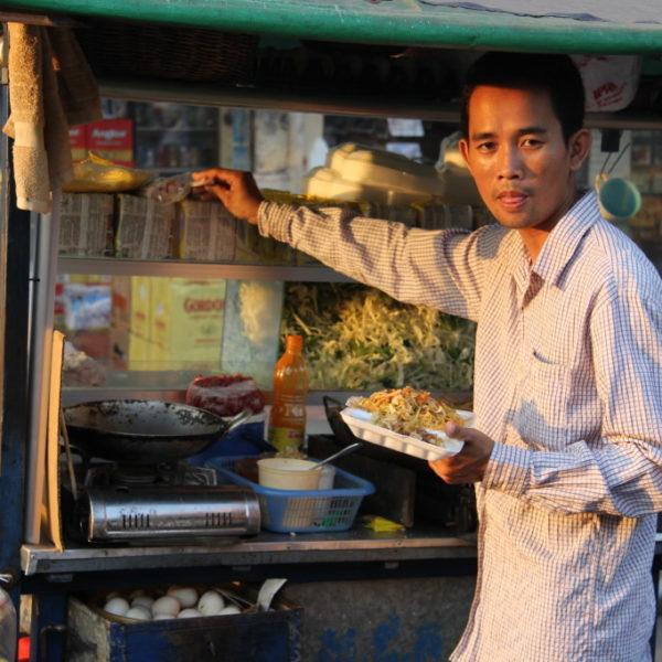Mee Goreng - Streetfood nahe des Phsar Chas