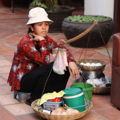 Mobiler Essensverkauf
