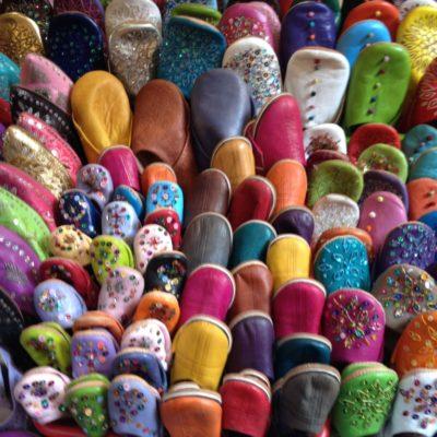 Orientalische Aladin-Schuhe in allen Farben