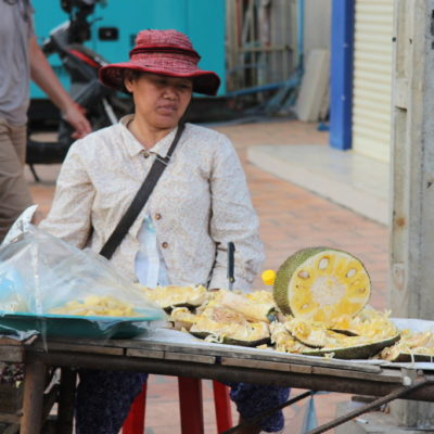 Phsar Chas - Jack-Frucht-Stand auf dem Old Market