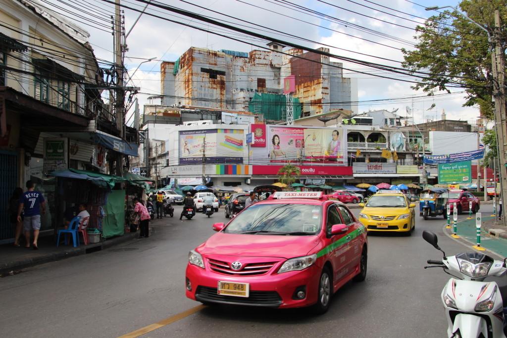 Pinkes Taxi - Auffallen gegen die Konkurrenz