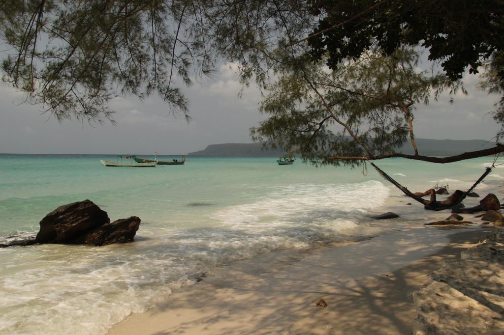 Sok San Beach - Wasser, Sand & Hängematte
