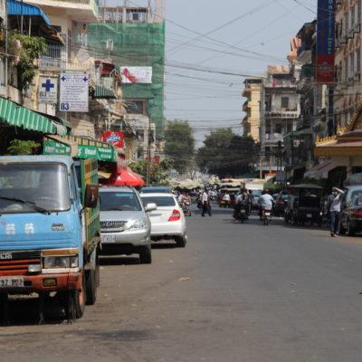 Straßen von Phnom Penh