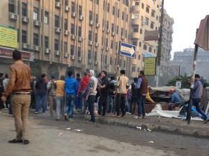 Straßenunruhen in Kairo