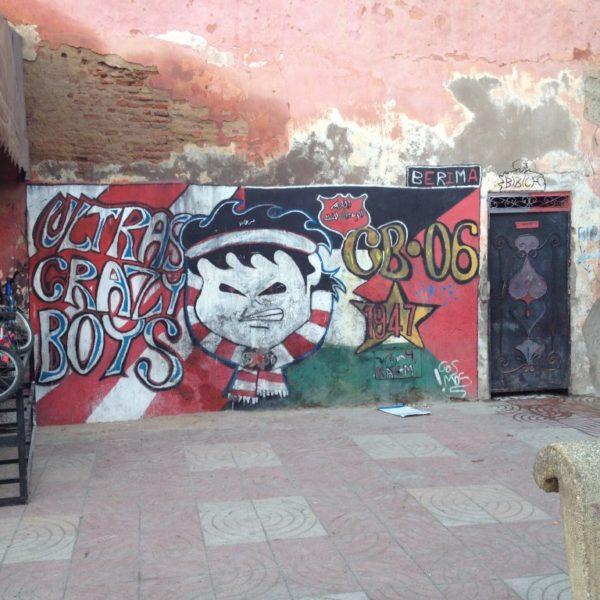 Streetart - Ultras Crazy Boys