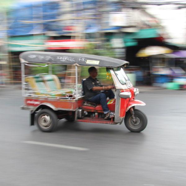 Tuk Tuk on Tour auf dem Weg zur Khaosan Road