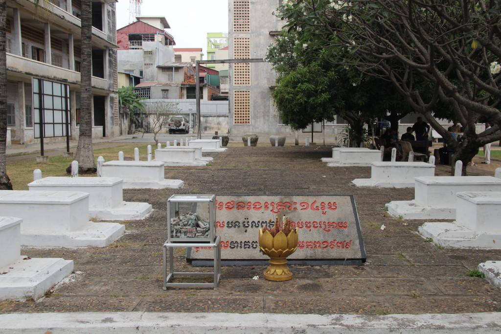 Tuol-Sleng-Genozid-Museum - das ehemalige Gefängnis S-21 der Roten Khmer