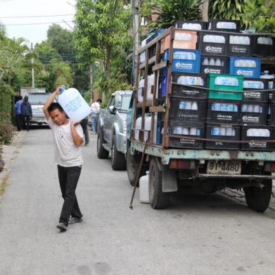 Wasserträger in Chiang Mai