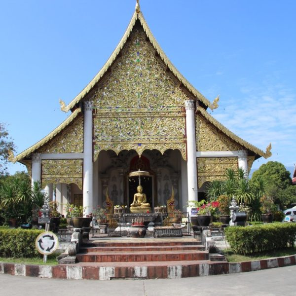 Wat Chedi Luang - Eingang zum großen Wihan