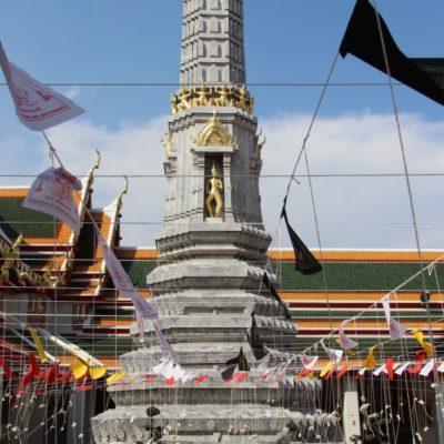Wat Phra Kaew - Ein Netz aus Baumwollfäden
