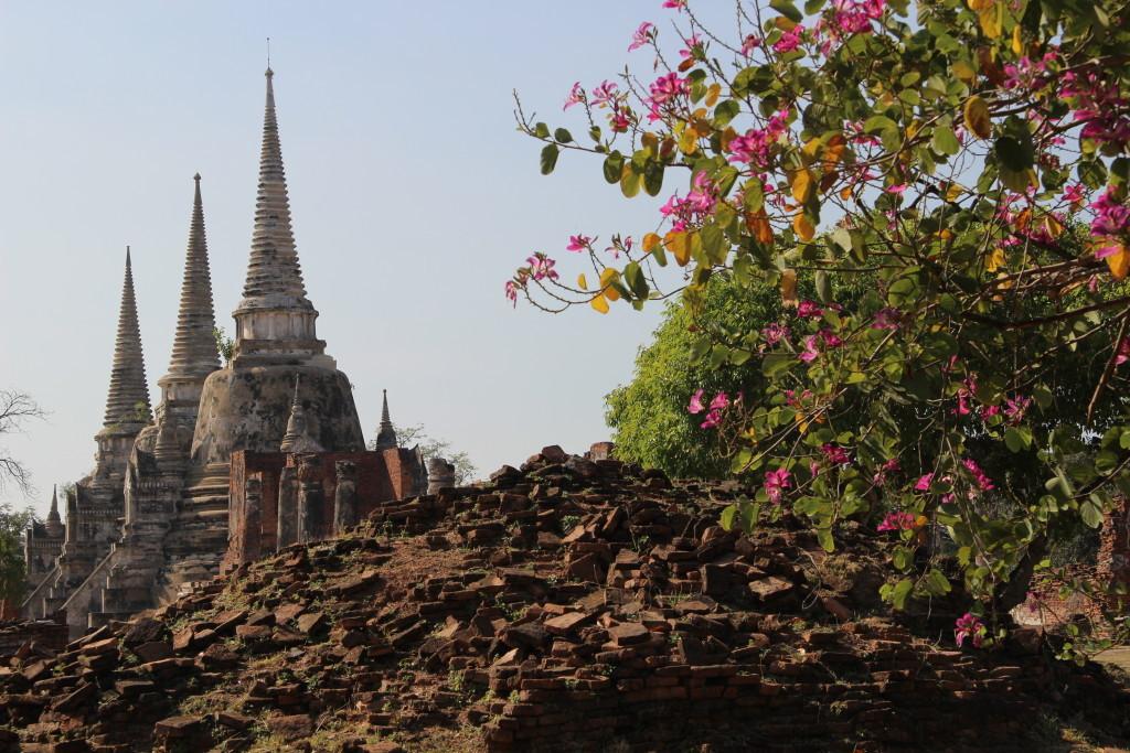 Wat Phra Si Sanphet - Königlicher Tempel auf dem Gelände des alten Königspalastes in Ayutthaya