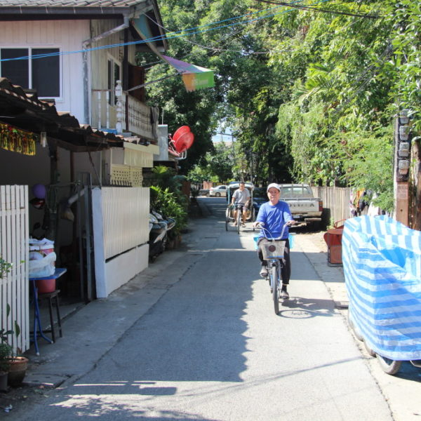 Gasse in Chiang Mai