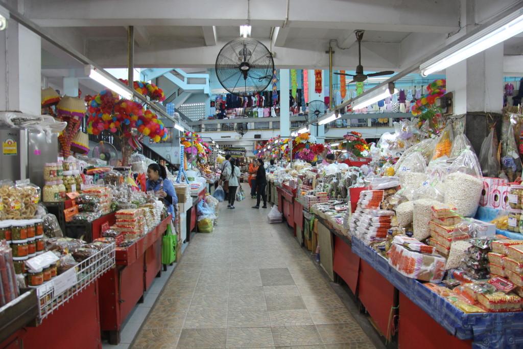 Markthalle des Warorot Market