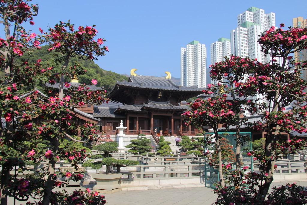 Chin Lin Nonnenkloster und der Nan Lian Garten
