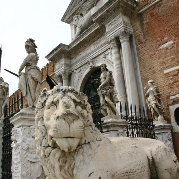 Das Arsenal, viele Jahrhunderte die Machbasis von Venedig