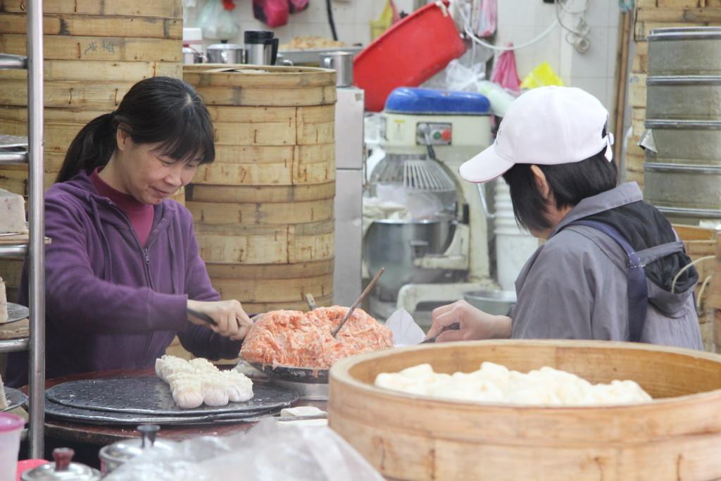 Dim-Sum-Teigtaschen gehören zu den beliebtesten Gerichten in China