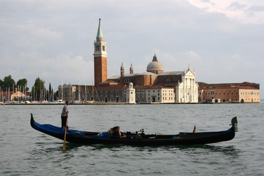 Gondel vor San Giorgio Maggiore