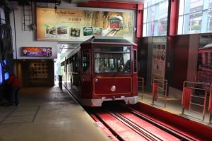 """Historische Drahtseilbahn """"The Peak Tram"""""""